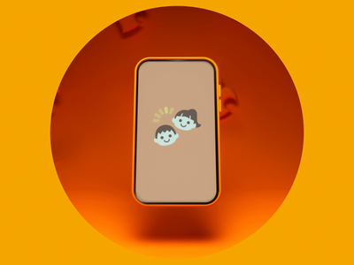 Animal Crossing - Nook Phone nintendo switch crossing animal circle loop animation orange screen iphone nook phone nintendo animalcrossing tomnook ui octane c4d illustration daily 3d