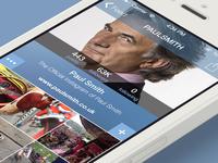 Instagram new skin profile screen