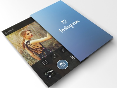 Instagram project is now up new transparent interface italy ui ux instagram app flat ios7 social redesign