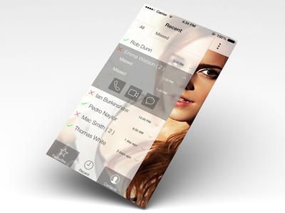 Facetime app for iOS 7