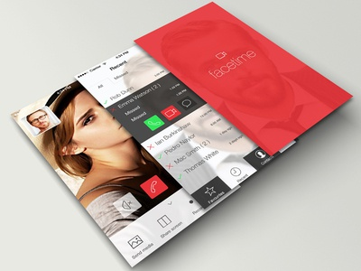 Facetime project is now on behance
