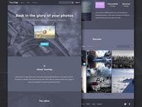 TouchUp splash page
