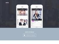 Ootd web concept