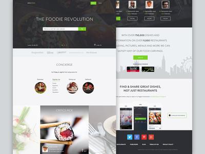 Menuspring reskin ui ux interface web reskin mac ios single food menu app