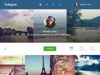 Instagram concept