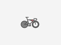 track bike doodle