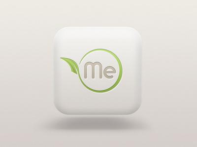 OrganicMe icon design