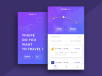 Google Flights Concept Design