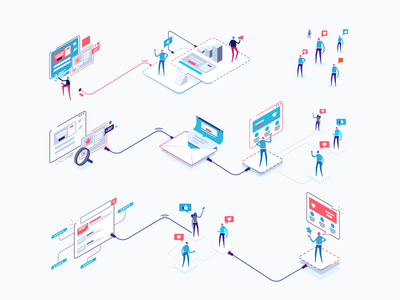 Respona App Process Illustrations