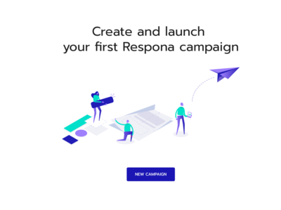 Respona in app Illustrations