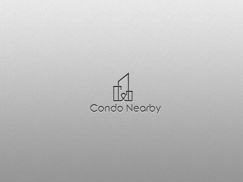Proposed Logo for a real estate company. location shot logodesign logotype building dribble logo