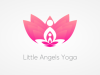 Little Angels Yoga Logo