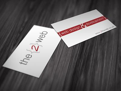 2theweb logo design business cards web 2theweb