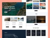Yacht Rental Website