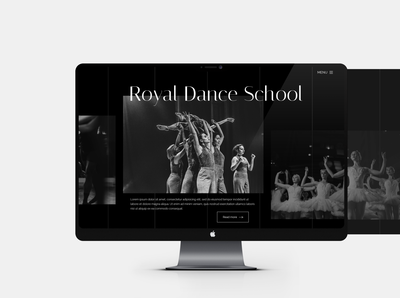 Royal Dance School Slider Design