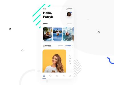 Dating App - animation