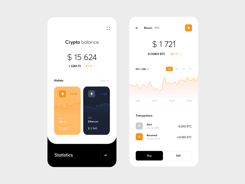 Crypto Currency App fiat exchange crypto balance bitcoin patryk polak mobile app finance crypto wallet crypto currency minimalist white cryptocurrency ux ui mobile blockchain bank app currency app crypto app