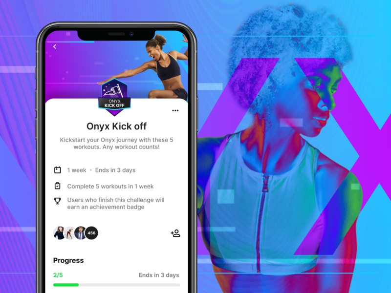 Push the limits with fitness challenges branding design branding agency sports identity sports branding sports design sport app design sports mobile design digital design app concept fitness ui app ux ui challenge ui workout challenge app fitness challenge fitness app design app ui app service