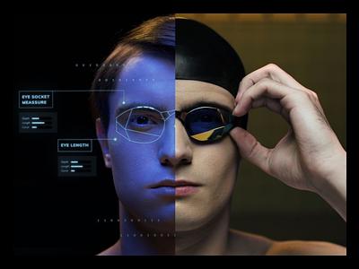 TheMagic5 sportstech themagic5 swimming branding swimming goggles goggles swimming video photoshop digital design sports branding