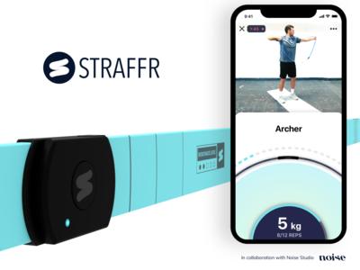 Straffr App Workout Screen