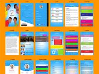 Zavindri App UI design