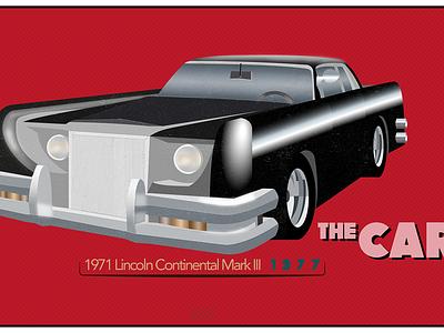 Film Cars Project / #3 The Car vector film illustrator illustration car design