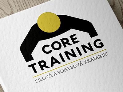 Logo for Core Training Academy branding typography illustrator graphicdesign vectorart logo brand vector design