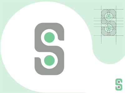 Logo S Playful Concept vectorillustration branding typography illustrator graphicdesign vectorart logo brand vector design