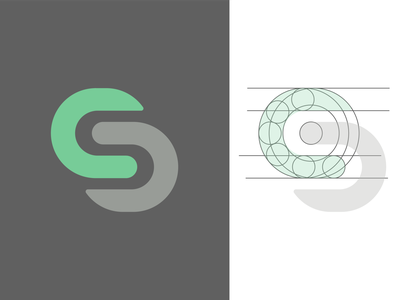 Logo Therapy with S vectorillustration branding typography illustrator graphicdesign vectorart logo brand vector design