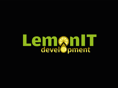 Joyful Logo Therapy with Lemon typography illustrator graphicdesign vectorart logo brand vector design