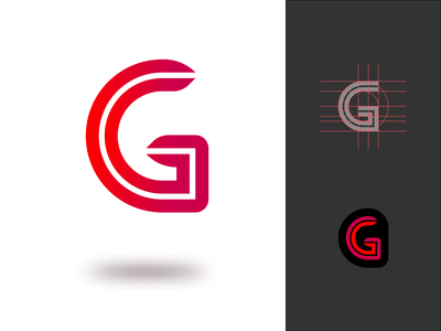 Logo Therapy with G letter vectorillustration branding typography illustrator graphicdesign vectorart logo brand vector design