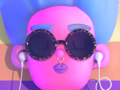 Summer Podcasts Buzzfeed Updated character render substance zbrush maya cg illustration animation redshift editorial