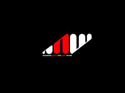 ANW LOGO graphic logo mark logodesign designs logos type art animation typography logo illustrator icon branding vector illustration design
