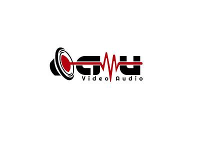 au audio art type animation logo typography illustrator icon branding vector illustration design