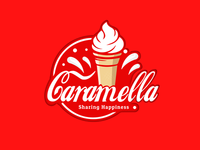 Ice cream logo design /uiux designer and graphic designer ui ux web ui web 3d art logodesign 3d logo logo art vector illustrator design lettering animation icon typography branding illustration