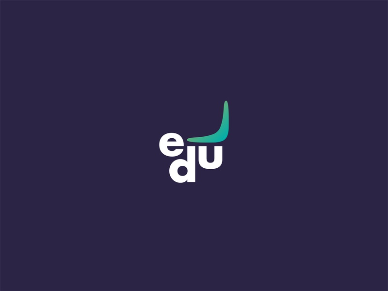 Edu Trips & Tips Logo (2nd version) adobe illustrator firm company nature museum branding secure blue green trips tips minimal logo education logo education website education app educational education