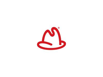 Arby's Logo Redesign logos lettermark lettering logodesign logo concept icon design flat flat logos adobe illustrator rebranding branding minimal logo fast food arby