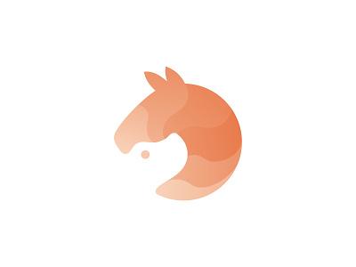 Dog and Horse Logo ( for sale ) branding minimal logo orange county orange logo oranges orange horse racing horseshoe horse logo horses dogstudio doggy dog illustration dog logo dogs horse dog
