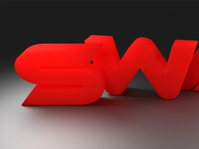 3D SWAK logo blender 3d