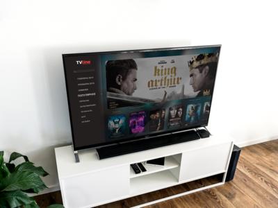 Daily Ui #025 - Tv App tv design mock up design figma ux ui