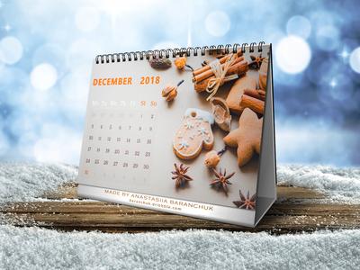 Daily UI #038_Calendar (mockup)