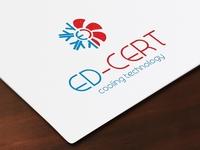 Cooling logo design