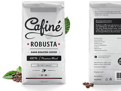 Coffee Packaging Design shod4n coffee logo packaging logotype food typography