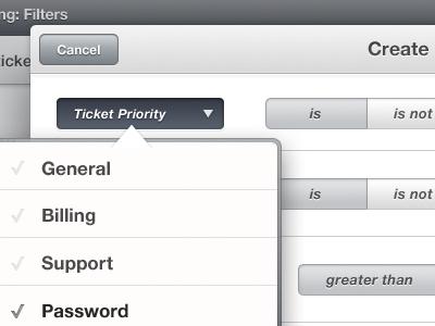 ClientExec for iPad #02 clientexec ipad ios tickets ui