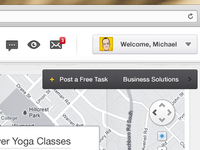 Map Web App - Detail #01