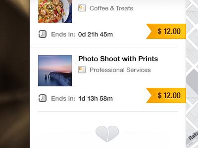 Map Web App - Detail #04 web webdesign ui map ribbon price tag