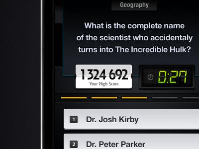 iPhone Trivia App (Game) #2
