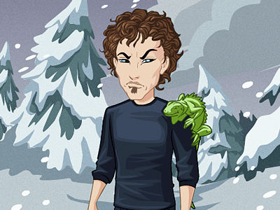 Time for winter! freezing winter avatar update shod4n snow meh cold