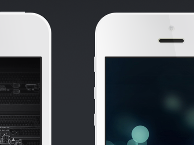 iPhone 5 PSD (Free Template) giveaway iphone5 mockup download apple ui iphone 5 iphone ios template freebie free psd resource white flat minimal