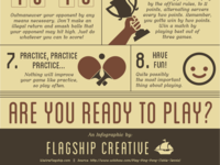 How to Play Ping Pong Infographic